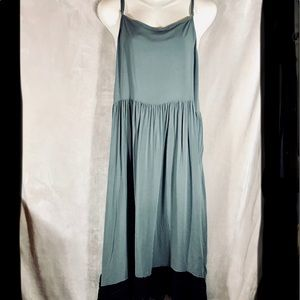 Free People NWOT Maxi Dress w/Crocheted Lace, Med